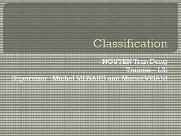 Michel MENARD and Muriel VISANI - Ecobio