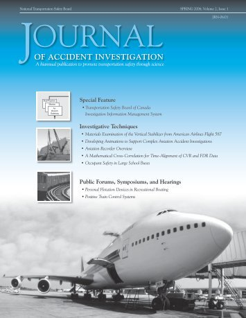 aircraft accident investigation techniques