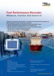 Fuel Performance Recorder - Aquametro AG