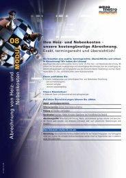 Abrechnung v on Heiz- und Nebenkosten - Aquametro AG