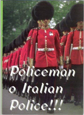 Policeman o Italian Police! - ANIP - Italia sicura