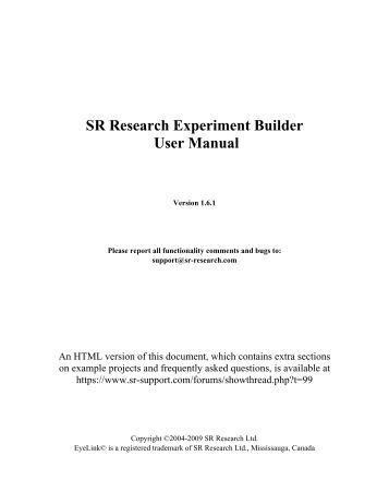 SR Research