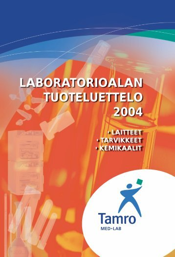 Tamro Tuoteluettelo 2004 - Low Temperature Laboratory