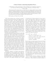 Critical Velocity in Rotating Superfluid 3He-A - Low Temperature ...