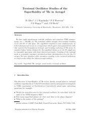Torsional Oscillator Studies of the Superfluidity of 3He in Aerogel
