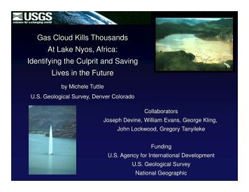 Gas Cloud Kills Thousands At Lake Nyos, Africa: Identifying the ...