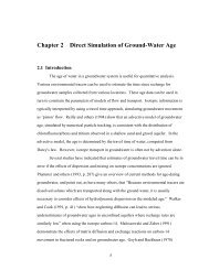 Chapter 2 Direct Simulation of Ground-Water Age - USGS Water ...