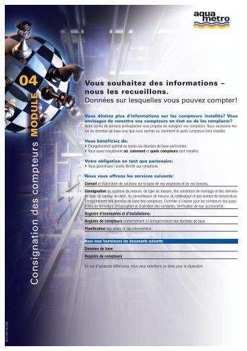 Vous souhaitez des informations - Aquametro AG