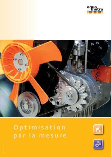 Optimisation par la mesure - Aquametro AG