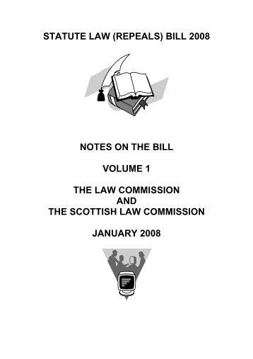 STATUTE LAW (REPEALS) BILL - Law Commission