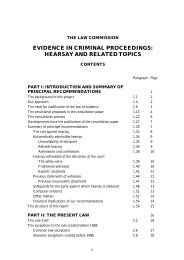 Evidence in Criminal Proceedings : Hearsay and Related Topics