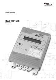 3. Wärmerechner CALEC® MB - Aquametro AG