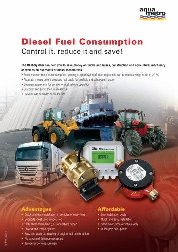 Diesel Fuel Consumption - Aquametro AG