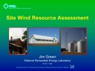Site Wind Resource Assessment