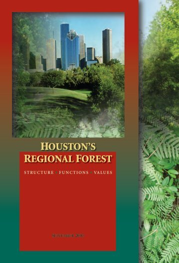 Houston's Regional Forest - i-Tree