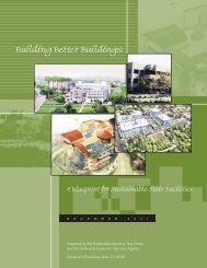 Building Better Buildings: A Blueprint for Sustainable State Facilities