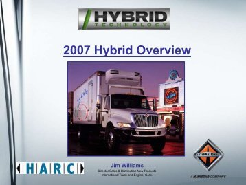 2007 Hybrid Overview