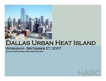 Presentation - Houston Advanced Research Center