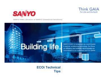 2010 ECO-i Tech Tips - Panasonic