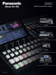 Switcher and AV Mixer Catalog
