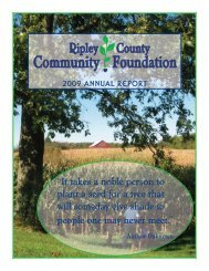 PDF Download - Ripley County Community Foundation