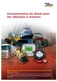 Consommation de diesel pour les véhicules à ... - Aquametro AG