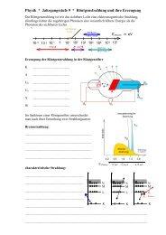 Physik * Klasse 9b * Röntgenstrahlung und ihre Erzeugung