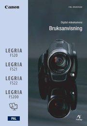 Bruksanvisning - Canon Europe