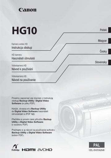 HG10 - Canon Europe