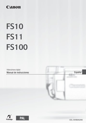 Español Manual de instrucciones - Canon Europe