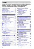 Uživatelská příručka k fotoaparátu - Canon Europe - Page 6