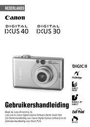 2 Gebruik de knop of om - Canon Europe