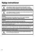 Betjeningsvejledning - Canon Europe - Page 2