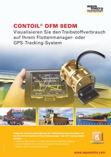 CONTOIL® DFM 8EDM - Aquametro AG