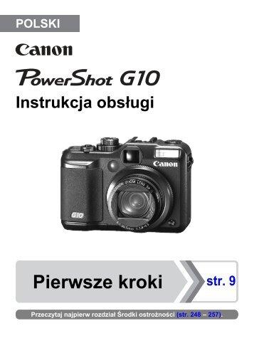 Pierwsze kroki - Canon Europe