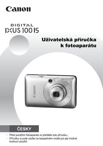 Uživatelská příručka k fotoaparátu - Canon Europe