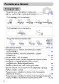 Uživatelská příručka k fotoaparátu - Canon Europe - Page 4