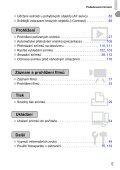 Uživatelská příručka k fotoaparátu - Canon Europe - Page 5