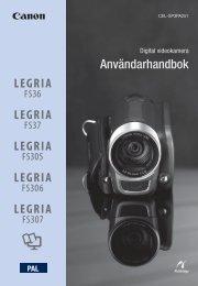 Användarhandbok - Canon