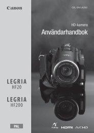 Användarhandbok - Canon Europe