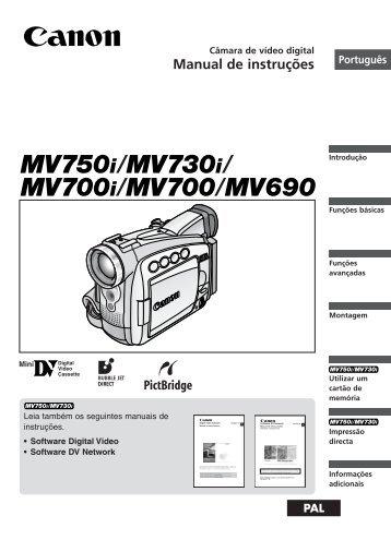 Manual de instruções - Canon Europe