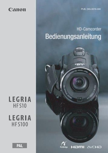 Bedienungsanleitung - Canon Europe