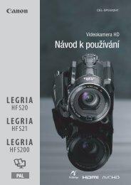 Návod k používání - Canon Europe