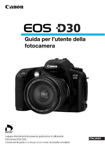 Canon EOS D30 - Canon Europe