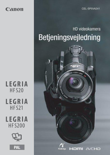 Manual til videokamera i Afdeling Q