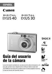 2 Use el botón o para - Canon Europe