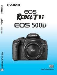 Canon EOS 500D - Afotar