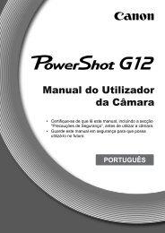 Canon G12 - Blog da Fotografia