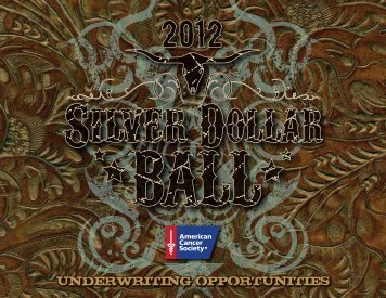 UNDERWRITING OPPORTUNITIES - Find a Ball or Gala in my area