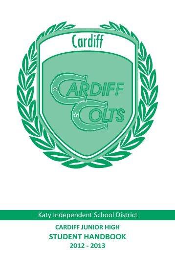 Student Handbook 12-13 (CJH) - Campuses - Katy ISD
